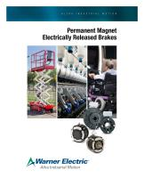 Permanent Magnet Electrically Released Brakes