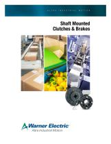Shaft Mounted Clutches & Brakes