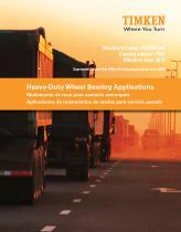 Aplicaciones de rodamientos para ruedas de maquinaria pesada