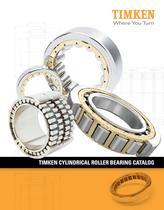 Timken Cylindrical Roller Bearing Catalog