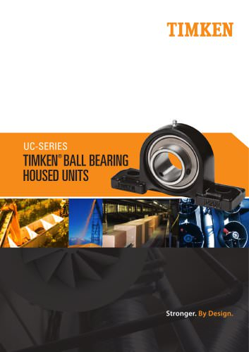 Timken UC Series Ball Housed Unit Catalog