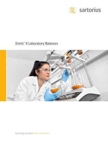 Entris®  II Laboratory Balances