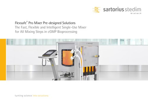 Flexsafe®  Pro Mixer Pre-designed Solutions