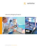 Laboratory Weighing Products