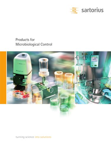 Products for Microbiological Control