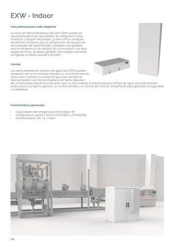 EXW - Intercambiadores de calor Aire/Agua