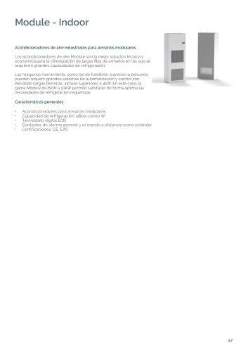 Module - Acondicionadores dei aire en módulo de armario