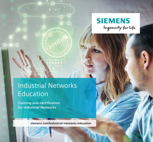 Industrial Networks Education: Training and certification for Industrial Networks