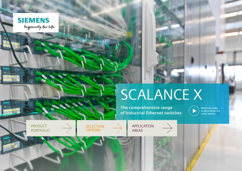 Interactive PDF: Find your SCALANCE X switch