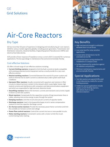 Air-Core Reactors