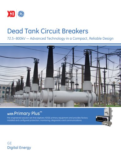 Dead Tank Circuit Breakers Brochure
