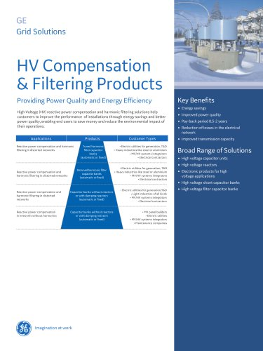 HV Compensation & Filtering Products