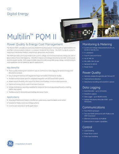 Multilin™ PQM II