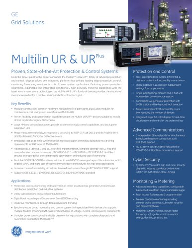 Multilin UR & URPlus