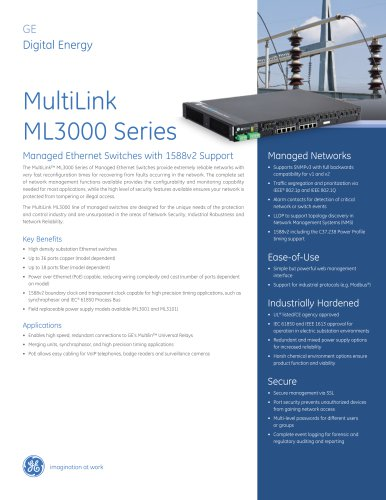 MultiLink ML3000 Series