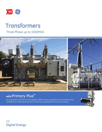 Transformers Three Phase up to 1500MVA