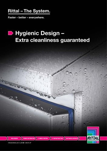 Hygienic Design – Extra cleanliness guaranteed