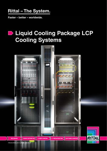 Liquid cooling package LCP cooling systems