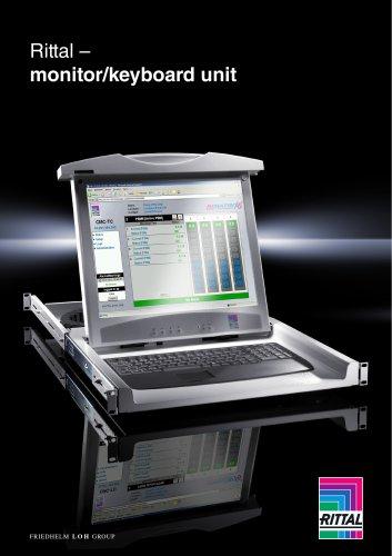 Monitor/keyboard unit