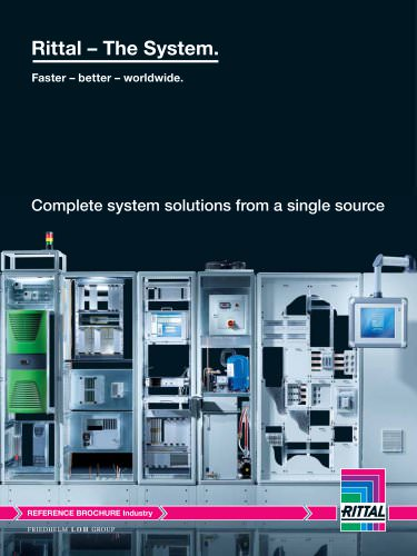 """Reference brochure """"Complete system solution from a single source"""""""