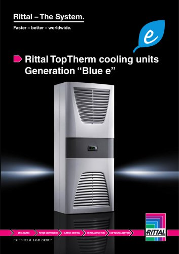 Rittal top therm cooling units generation