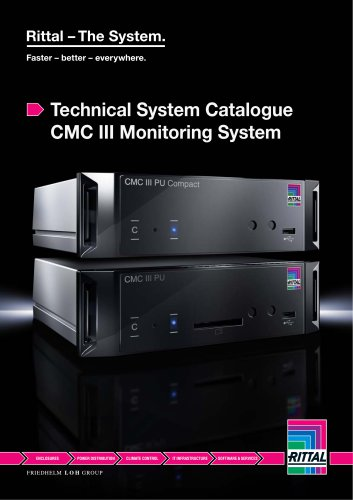 Technical System Catalogue CMC III Monitoring System