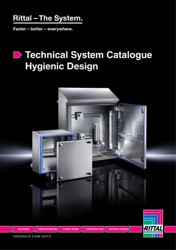 Technical System Catalogue Hygienic Design