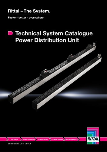 Technical System Catalogue Power Distribution Unit