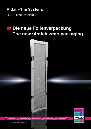 The new stretch wrap packaging