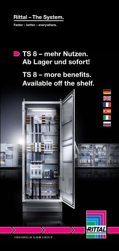 TS 8 – mehr Nutzen. Ab Lager und sofort! / TS 8 – more benefits. Available off the shelf.