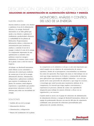 SOLUCIONES DE ADMINISTRACIÓN DE ALIMENTACIÓN ELÉCTRICA Y ENERGÍA