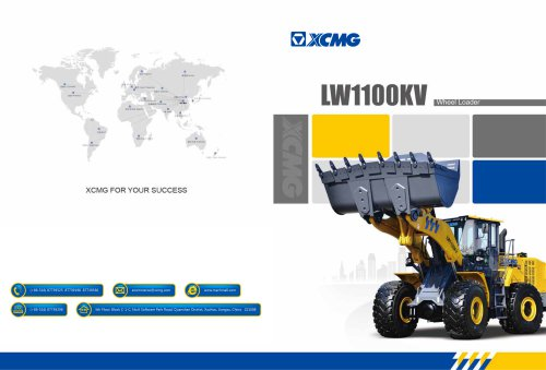 XCMG 11Ton Wheel Loader LW1100KV