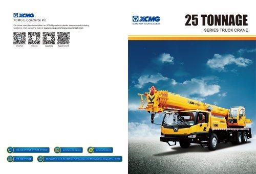 XCMG 25 Tonnage Truck Crane