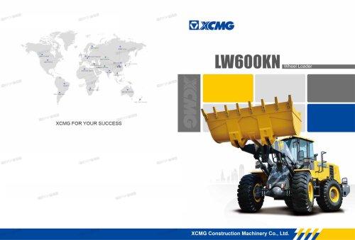 XCMG 6 ton wheel loader LW600KN