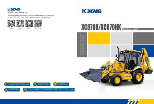 XCMG Backhoe Loader XC870HK