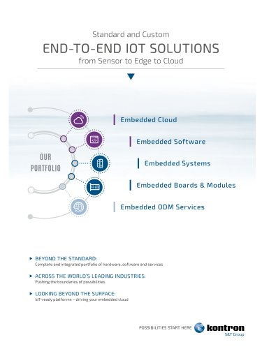 END-TO-END IOT SOLUTIONS