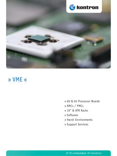 VME Product Catalog