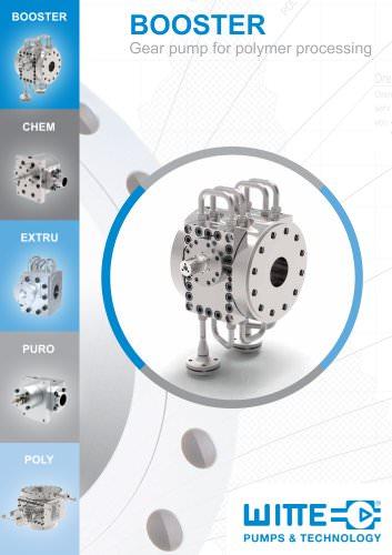 BOOSTER Gear pump