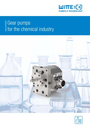 Portfolio Chemical Pump Solutions WITTE