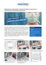 iSONIC Mask Welder