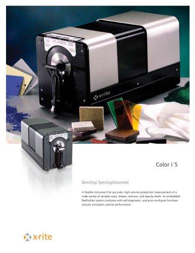 Color i5 Benchtop Spectrophotometer
