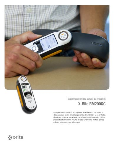 RM200QC - Espectrocolorímetro portátil de imágenes