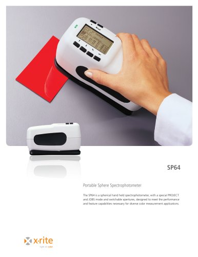 SP64 Portable Sphere Spectrophotometer