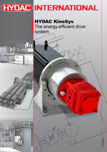 HYDAC KineSys The energy-efficient drive system