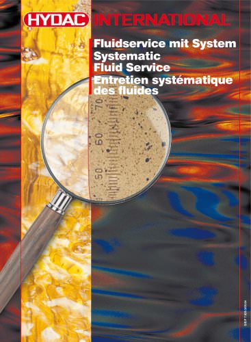 Hydraulic and lubrication filter systems