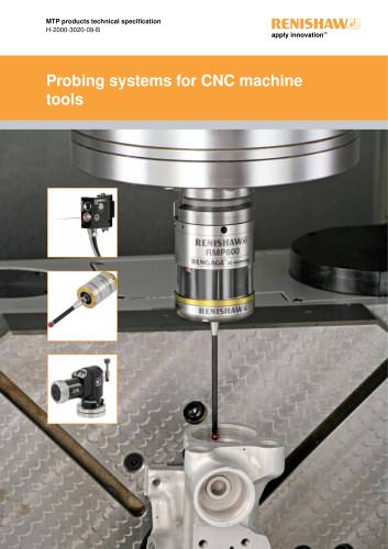 Probing systems for CNC machine tools technical