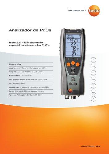 Analizador de PdCs - testo 327