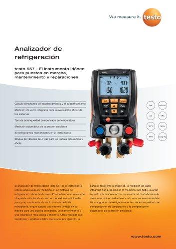 Analizador de refrigeración - testo 557