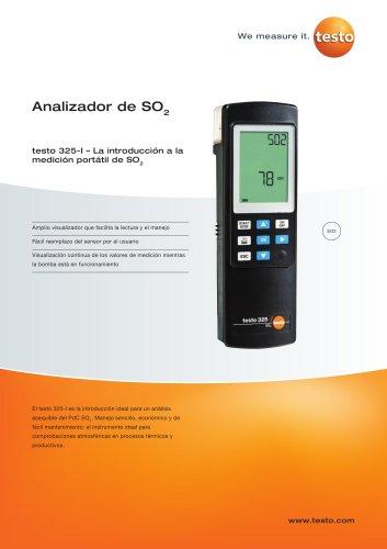 Analizador de SO2 - testo 325-I