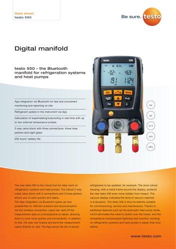 Digital manifold